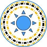 La stella scrive il logo Fotografia Stock