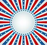 La stella Spangled la bandiera Fotografia Stock