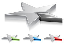 La stella stars (vettore) Immagini Stock