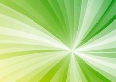 La stella verde astratta allinea il fondo Fotografie Stock
