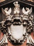 La stemma dei draghi Immagine Stock