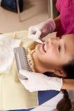 La stomatologia è divertimento: scelga il giusto colore Immagini Stock