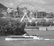 La stora Roue de Montreal Arkivfoton