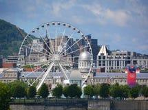 La stora Roue de Montreal Royaltyfri Fotografi