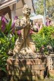 La storia della scultura buddista Fotografie Stock Libere da Diritti