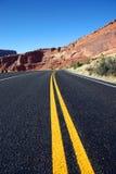 La strada. Fotografie Stock