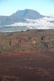 La strada al vulcano di Piton de la Fournaise Fotografia Stock Libera da Diritti