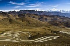 La strada dell'Everest Immagine Stock Libera da Diritti