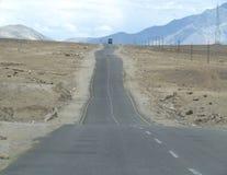 La strada delle montagne russe Immagini Stock