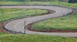 La strada di bobina. Fotografia Stock
