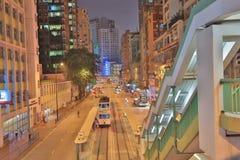 La strada di re, Hong Kong Fotografia Stock