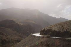 La strada in Himalaya Fotografie Stock
