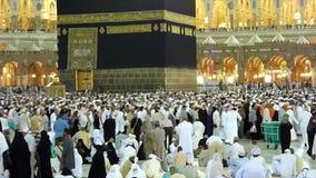 La strada a La Mecca stock footage