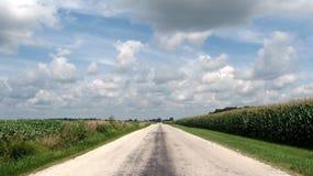 La strada più di meno ha viaggiato Fotografia Stock