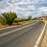 La strada selvaggia Fotografie Stock