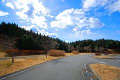 La strada su Fuji san a Shizuoka immagini stock