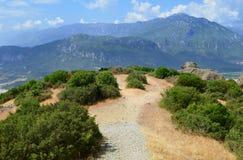 La strada sulla montagna Bei Mountain View Fotografie Stock Libere da Diritti
