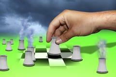 La strategia delle centrali Immagine Stock Libera da Diritti