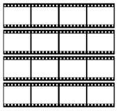 la striscia della pellicola incornicia il blocco per grafici Fotografia Stock Libera da Diritti