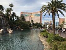 La striscia di Vegas fotografie stock