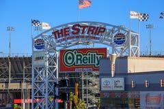 La striscia a Las Vegas Motor Speedway immagini stock
