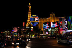 La striscia a Las Vegas, NV Immagini Stock Libere da Diritti