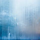 La structure abstraite a formé par condensation de l'eau sur le verre Photos stock
