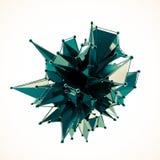 La structure 3d rendent les infographies CG. Illustration en cristal Un de l'ensemble Plus dans mon portfolio Image stock