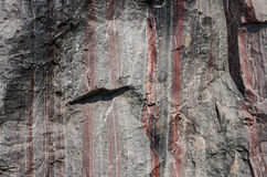 La structure d'une pierre minérale à rompre Image libre de droits
