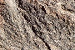 La structure du granit non poli naturel est brun clair en couleurs image stock
