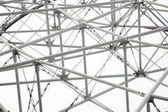 La structure en acier de tube Photographie stock