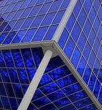 La structure en verre au-dessus de nos têtes Photos libres de droits