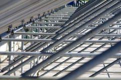 Structure métallique Image libre de droits