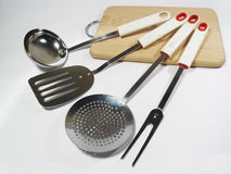 La strumentazione della cucina Fotografia Stock