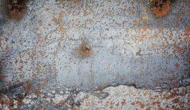 La struttura è metallica Fondo industriale da un vecchio arrugginito fotografie stock libere da diritti