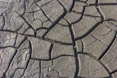 La struttura al suolo dell'argilla incrinata Immagine Stock Libera da Diritti