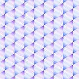 La struttura allinea i rombs dei triangoli Immagini Stock