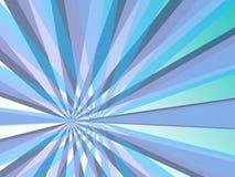 La struttura astratta blu di Sunflare colora la priorità bassa Immagini Stock