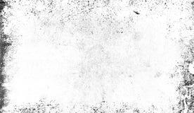 La struttura bianca dei graffi, chip, scalfisce, la sporcizia su vecchia superficie invecchiata Isolato sullo spazio del fondo pe royalty illustrazione gratis