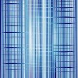 La struttura blu del modello della banda del fondo può usare per l'affare Fotografia Stock
