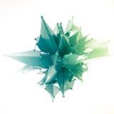 La struttura 3d rende il computer grafica CG Illustrazione di cristallo Uno dall'insieme Più nella mia cartella Fotografia Stock