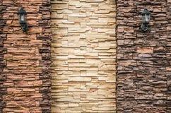 La struttura del dettaglio della pietra Immagini Stock