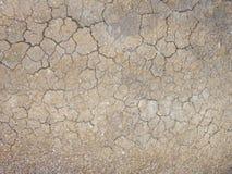 La struttura del fango secco immagini stock libere da diritti