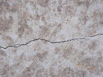 La struttura del fondo della pietra naturale con la crepa Immagini Stock Libere da Diritti