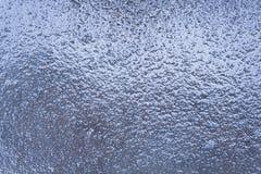 La struttura del ghiaccio Acqua congelata Fotografia Stock