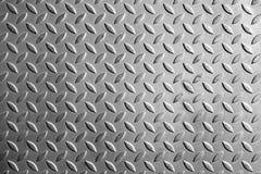 La struttura del modello del di piastra metallica Fotografia Stock Libera da Diritti