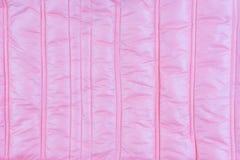 La struttura del rivestimento rosa materiale Fotografie Stock Libere da Diritti