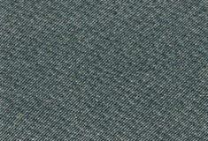 La struttura del tessuto del tweed di verde di mare profondo ha dettagliato fondo approssimativo orizzontale strutturato dettagli Immagini Stock