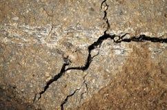 La struttura dell'asfalto nocivo Fotografie Stock Libere da Diritti