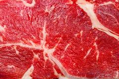 La struttura della carne cruda del manzo immagine stock